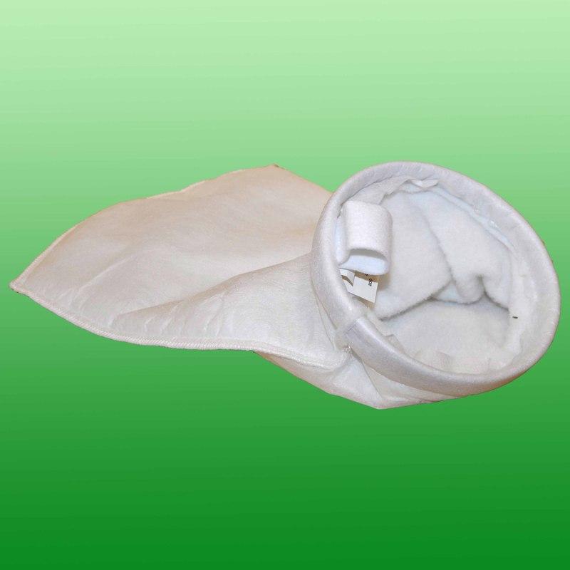 Filterpåse i polyester multifilament. 150-800 mikron. Effektivitet 70%.